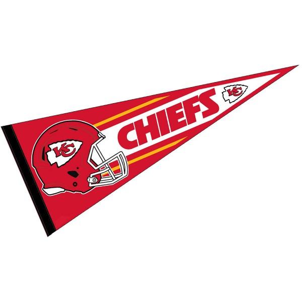 600x600 Kc Chiefs Football Pennant And Kc Chiefs Football Helmet Logo Pennants