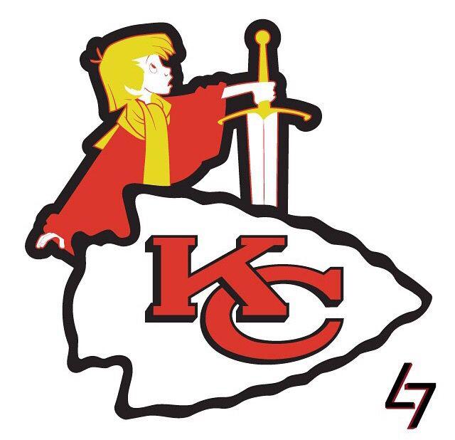 640x618 Kansas City Chiefs King Arthur By Ak47 Studios Football Team