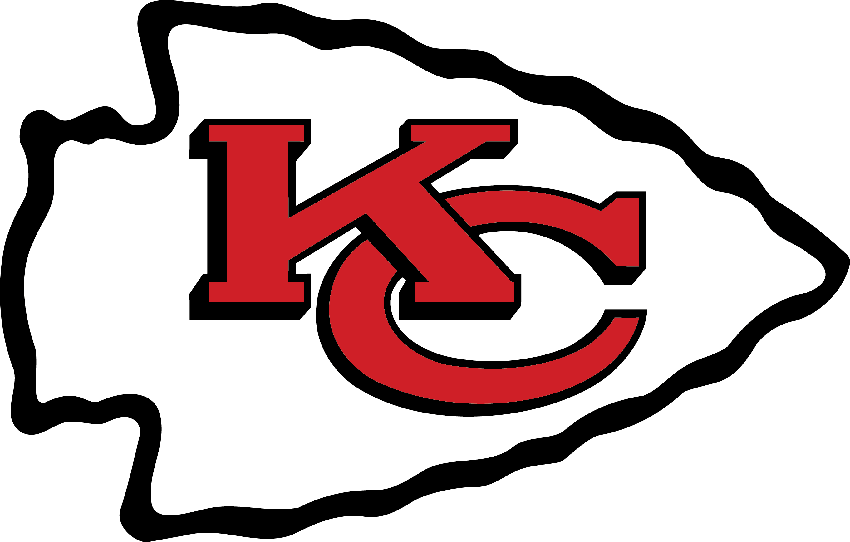 2723x1737 Kansas City Chiefs Logo Vector Eps Free Download, Logo, Icons
