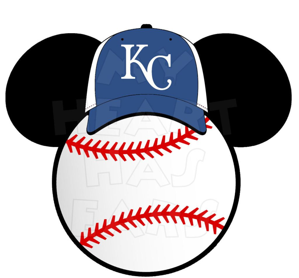 1024x953 Kansas City Royals Giants Baseball With Mickey Mouse Ears Instant