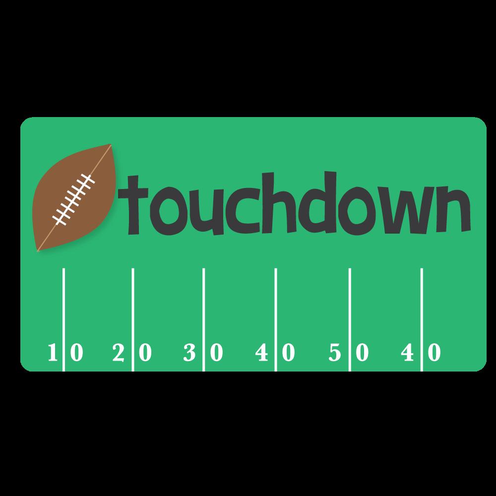 1000x1000 Nfl Touchdown American Football Kansas City Chiefs Clip Art