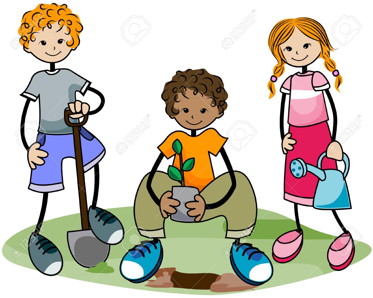 1300x1040 Fall. Kids Garden Art The Garden Game A Math For Kids Party
