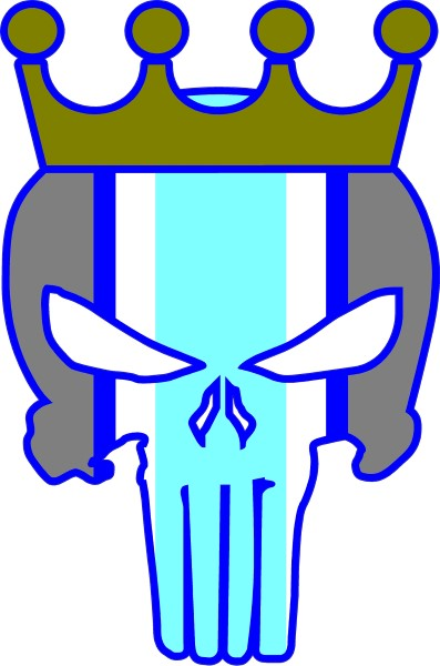 397x600 Kansas City Royals Punisher Decal Sticker 40