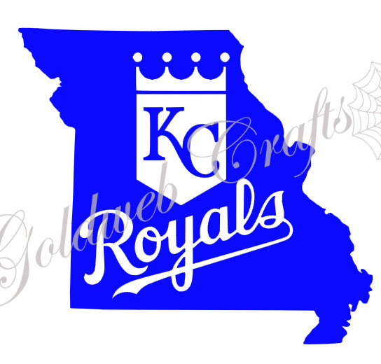 544x520 Kansas City Royals Car Decal
