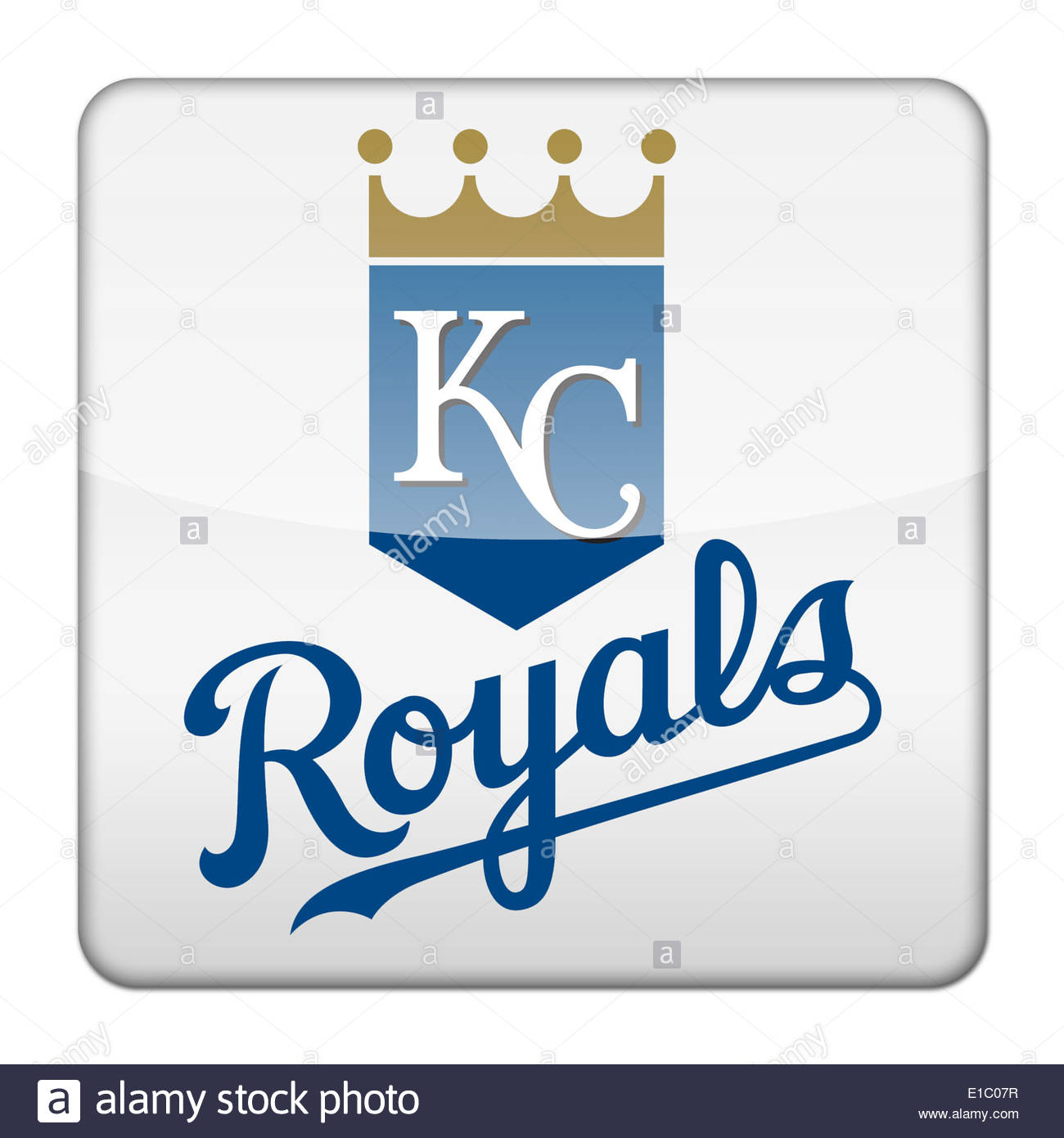 1300x1390 Kansas City Royals Icon Logo Isolated App Button Stock Photo