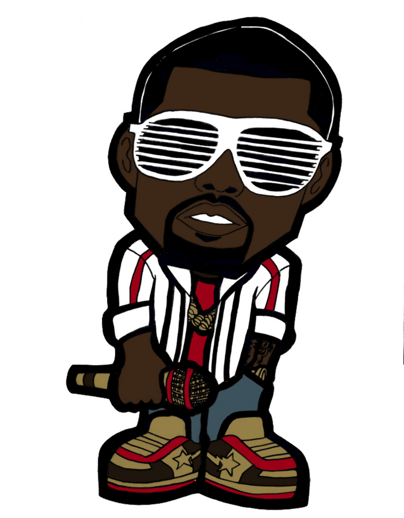 799x1024 Chibi Kanye West From Raheem Nelson Via My Ipad (Anubis