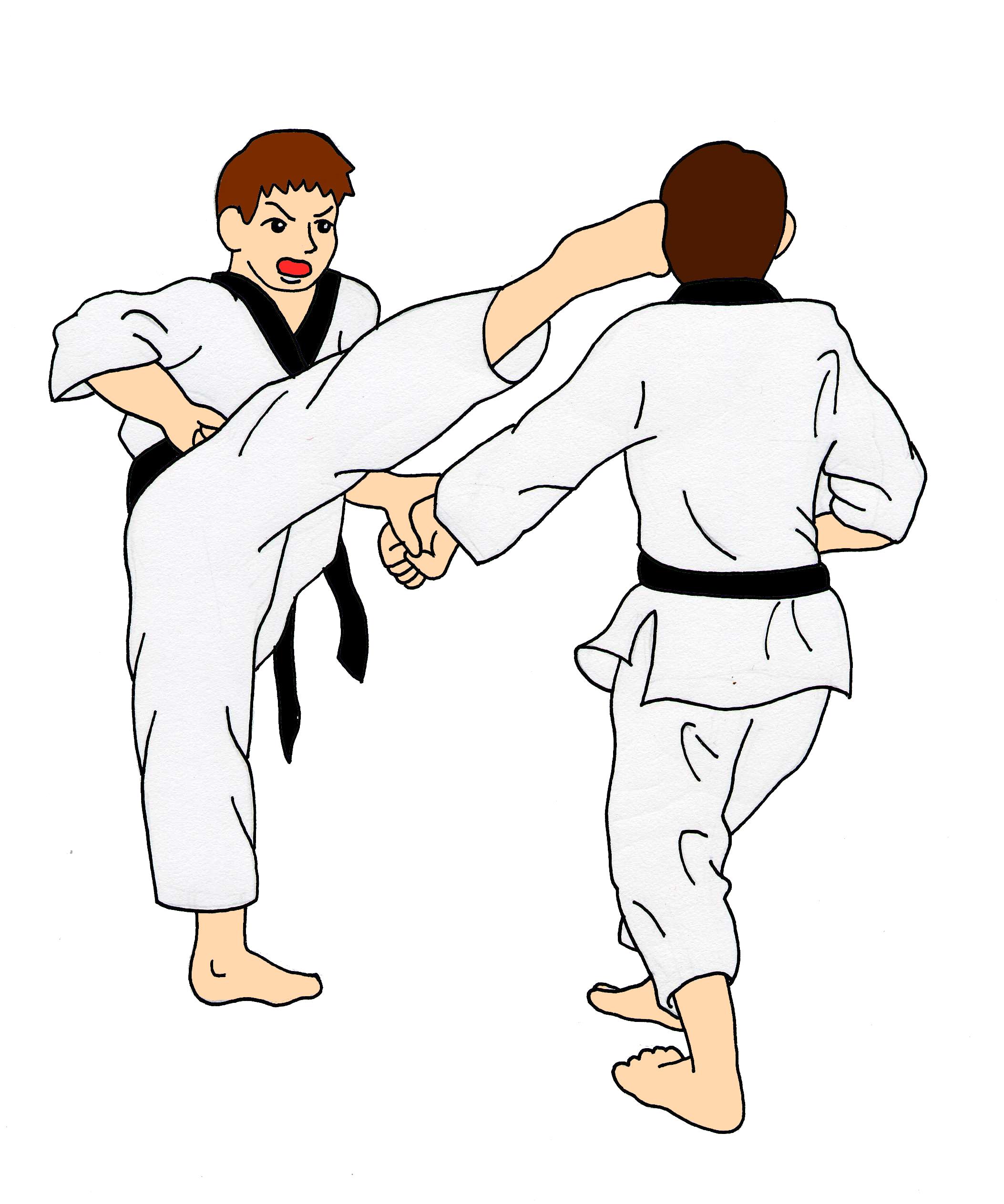 2106x2526 Do Karate Clipart