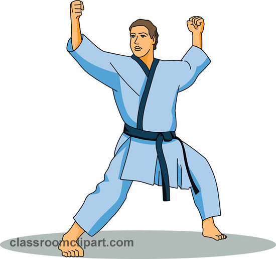 550x515 Free Sports Karate Clipart Clip Art Pictures Graphics 3