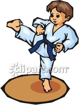 263x350 Little Kid Doing A Karate Kick