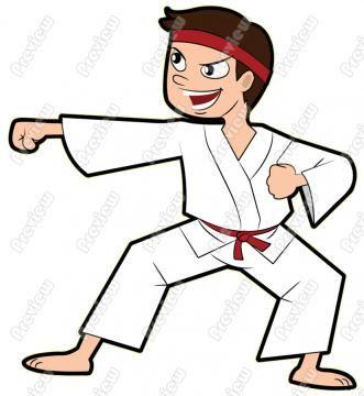331x360 Elegant Cartoon Karate