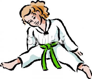 350x303 Karate Clip Art