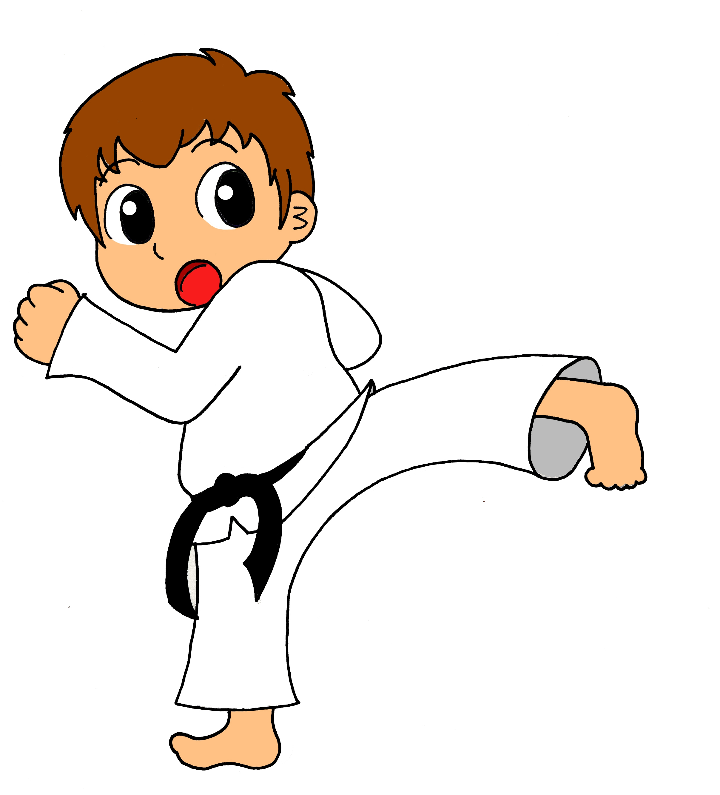 2413x2663 Awesome Karate Clipart Gallery