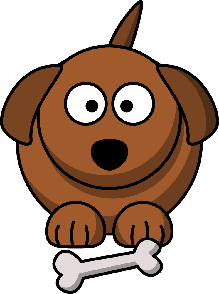 746x1000 Cute Cartoon Dog Graphic