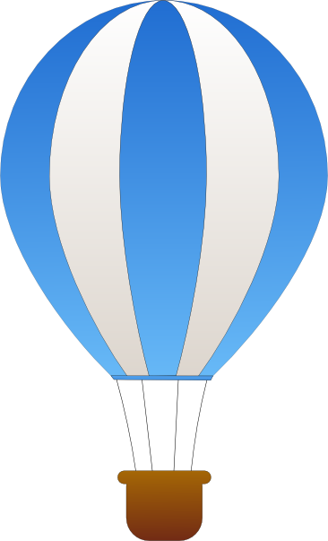 366x603 Hot Air Balloon Clip Art 6504569