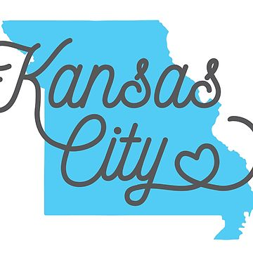 360x360 I Love Kansas City Heart Design Women's Fitted Scoop T Shirt By