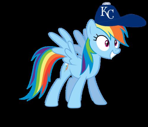 500x429 Rainbow Dash Images Rainbow Dash Wearing A Kansas City Royals Cap