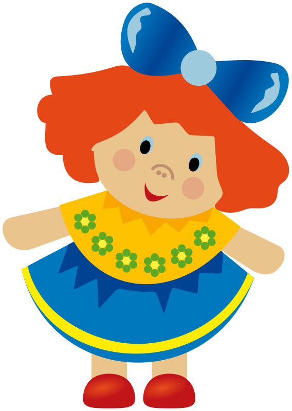 568x800 Collection Of Doll Clipart Png High Quality, Free Cliparts