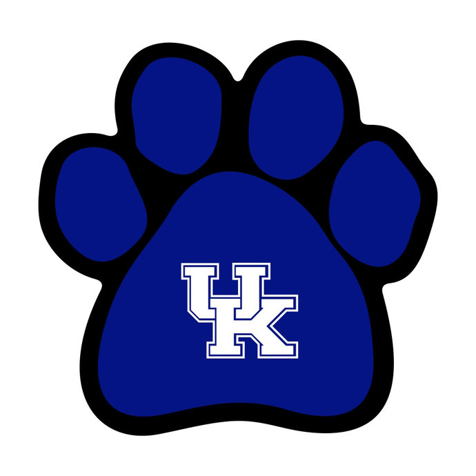 690x690 Kentucky Wildcats Dog Paw Graphics Design Svg By Vectordesign