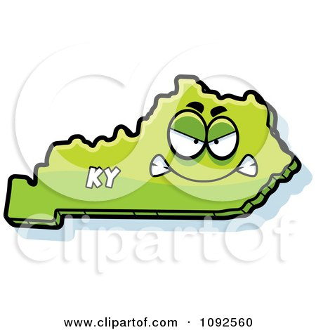 450x470 Royalty Free (Rf) Kentucky Map Clipart, Illustrations, Vector