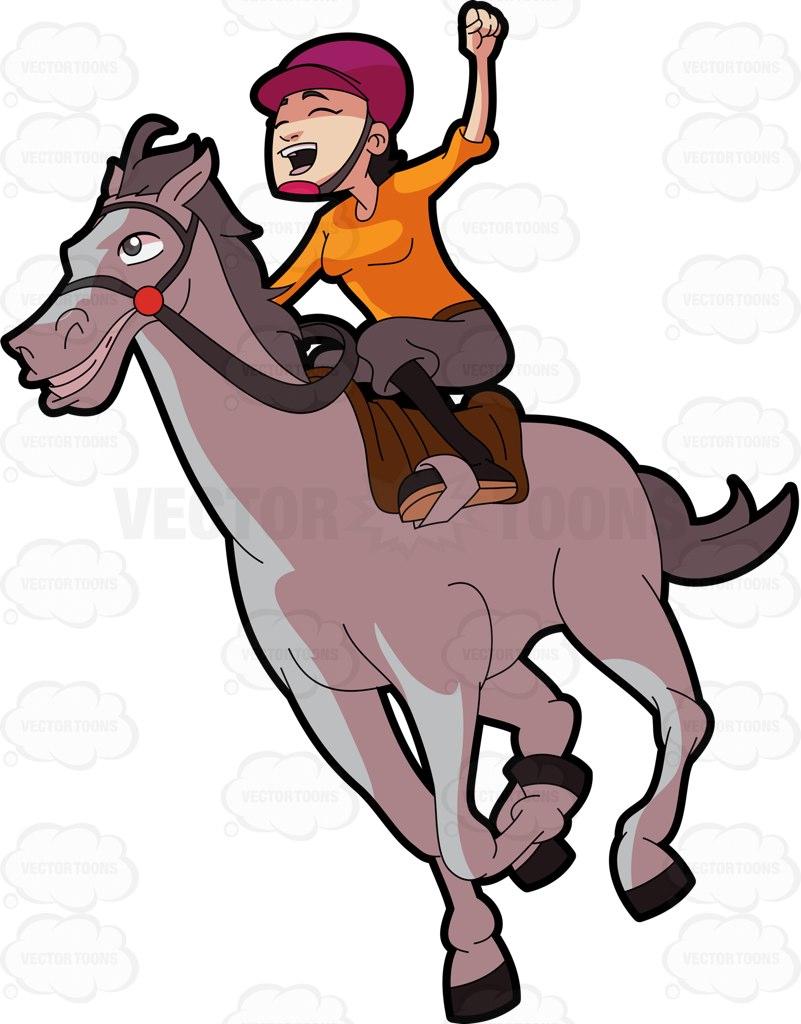 801x1024 Horse Race Clipart Group