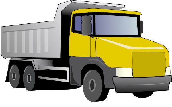 600x374 Ford Dump Truck Clipart