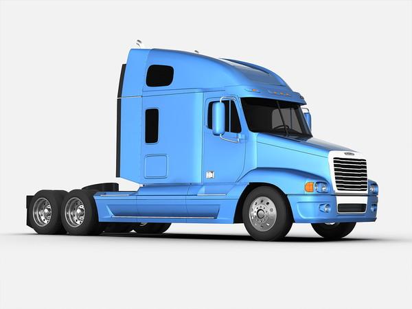 600x450 Freightliner 18 Wheeler Clipart