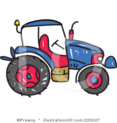 400x420 Tractor Clipart Black And White Clipart Panda
