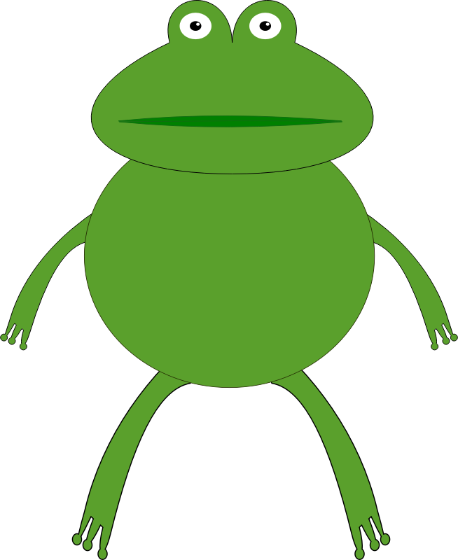 654x800 Green Frog Clipart, Explore Pictures