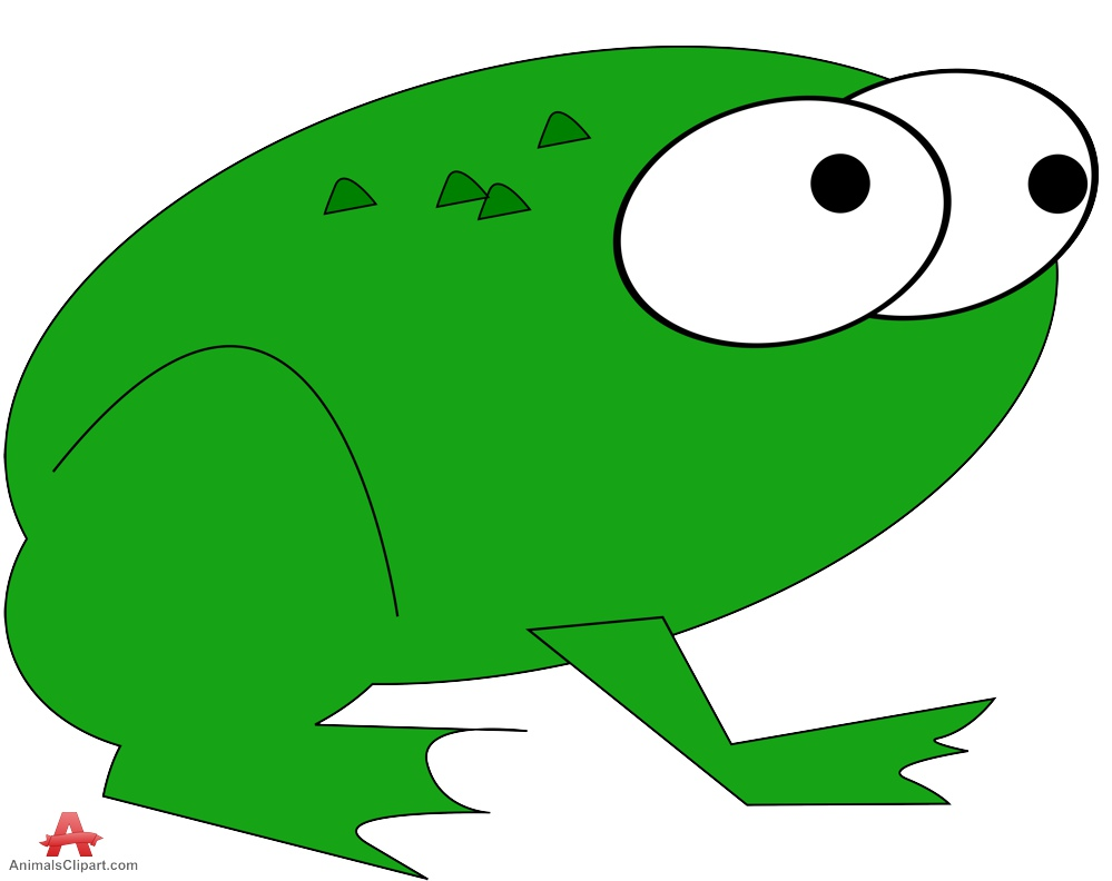999x792 Greenic Frog Clipart Free Design Download