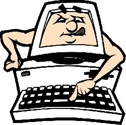 250x249 Computer, Pc, Cartoon, Keyboard, Learning, Clip Art