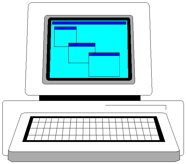 617x543 Clip Art Computer Monitors