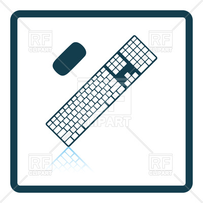 400x400 Keyboard Icon Royalty Free Vector Clip Art Image