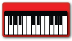 250x144 Music Keyboard Clipart Clipartmonk