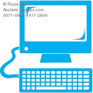 298x300 Blue Keyboard Clipart Amp Stock Photography Acclaim Images