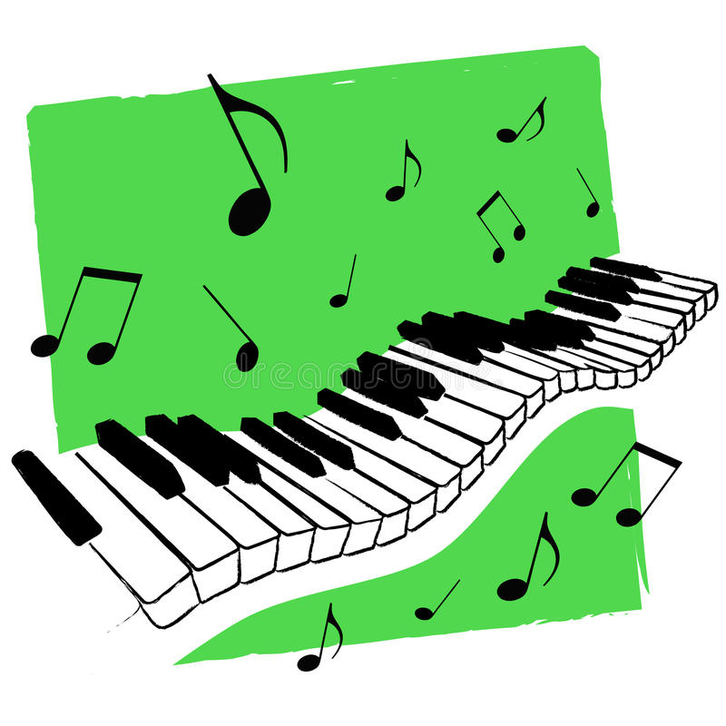 800x800 Music Keyboard Clipart Music Keyboard Vector Stock Vector