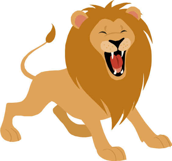 564x528 Collection Of Lion Roaring Clipart High Quality, Free