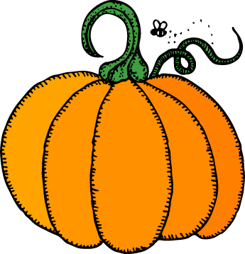 345x359 Halloween Pumpkin Clip Art 5