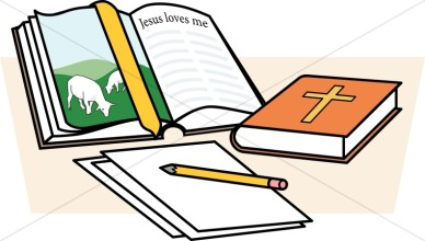 388x220 Image Of Bible Study Clipart