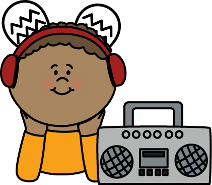 421x366 Headphone Clipart For Kid