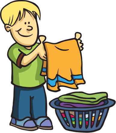 387x444 Collection Of Children Doing Chores Clipart High Quality