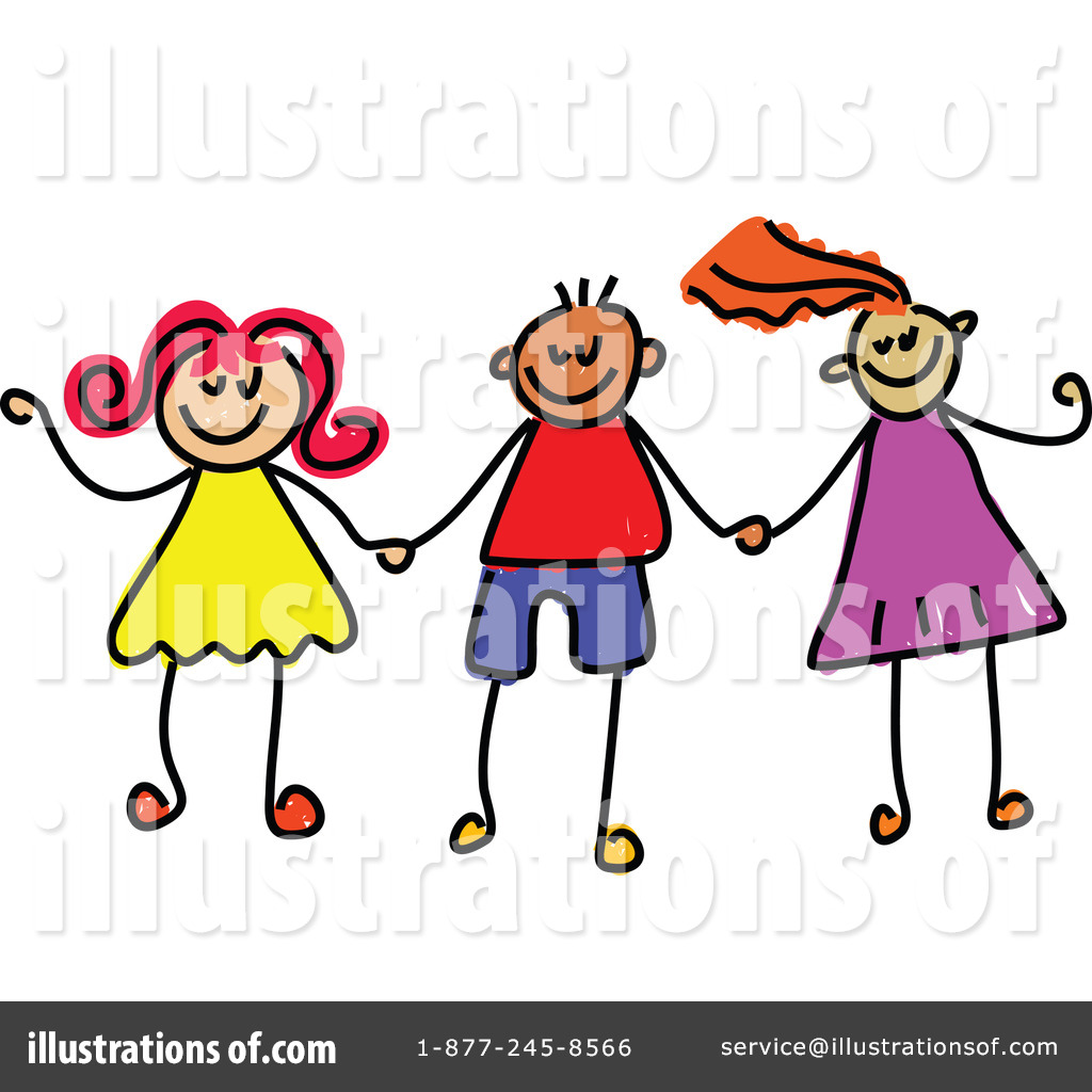 1024x1024 Holding Hands Clipart