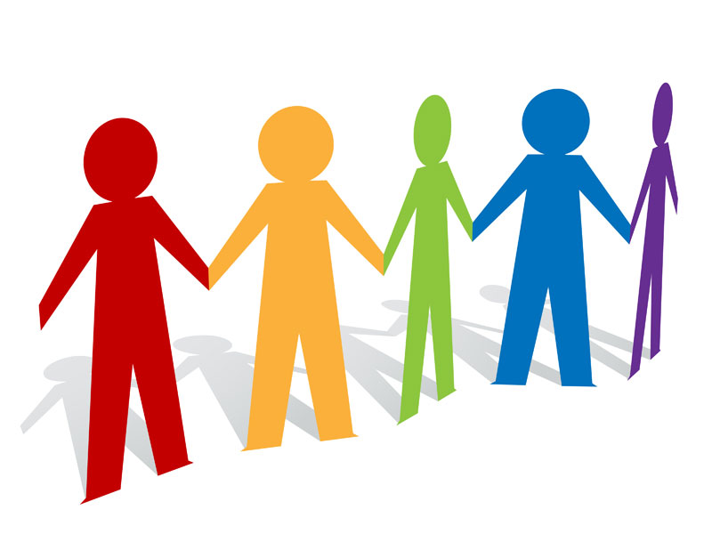 800x600 Holding Hands Clipart