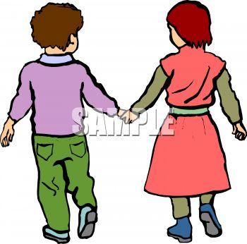 350x346 Little Kids Holding Hands