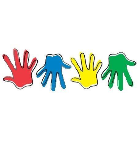 450x470 Deluxe Kids Hands Clipart Free