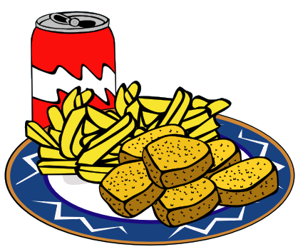 418x353 Meal Clipart Food Item