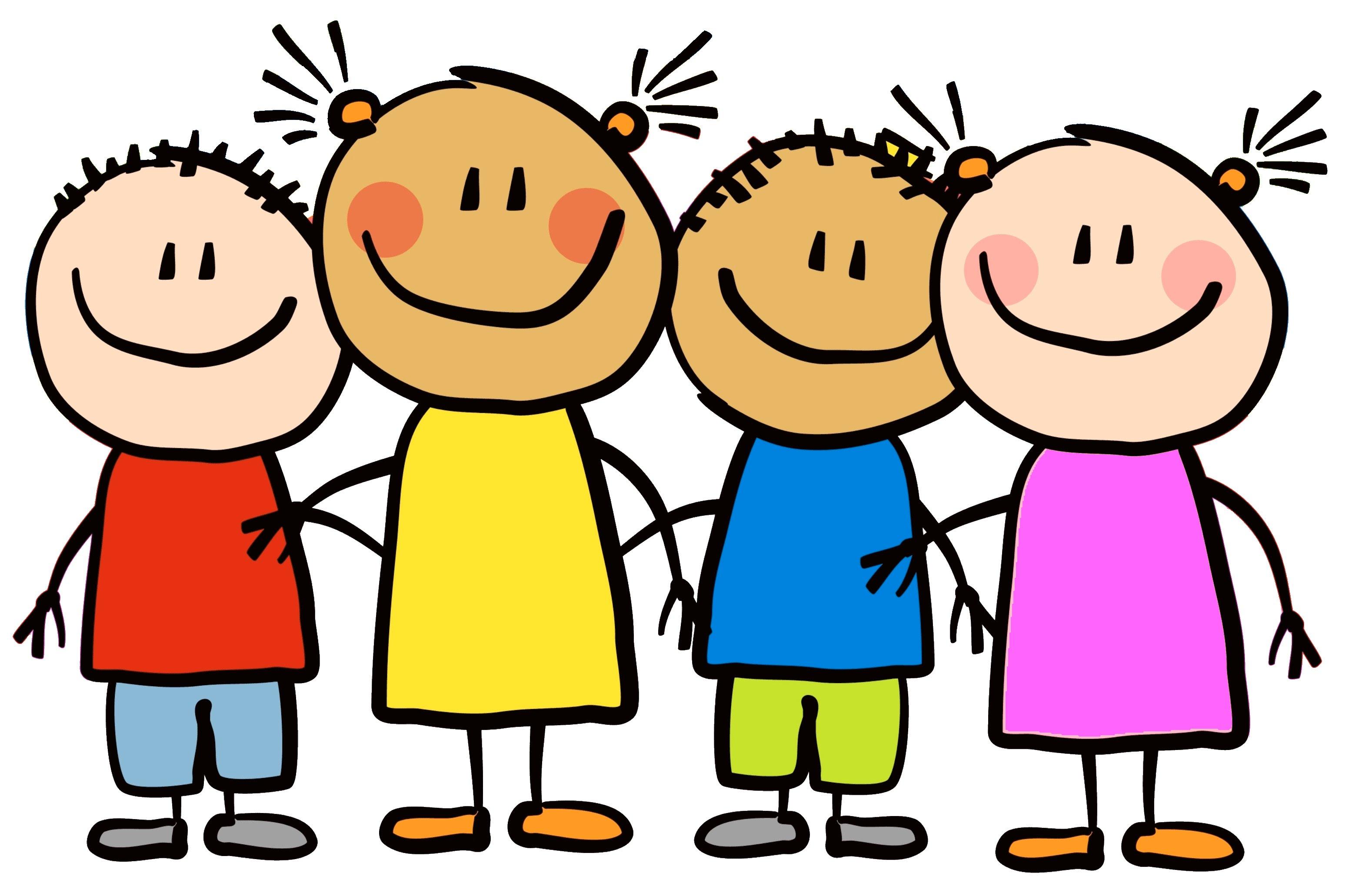 3103x2062 Cartoon Little Kids Happy Clipart 7 Elkhorn Public Schools
