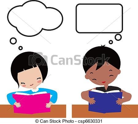 450x404 Children Learning Clipart Kids Learning Vector Clip Art Csp6630331
