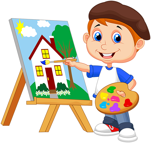 kids painting clipart at getdrawings com free for personal use rh getdrawings com printing clip art free painting clip art free