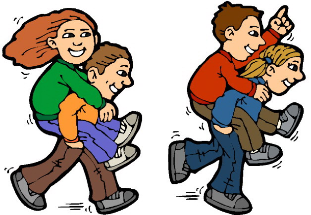 628x435 Free Children Playing Clipart Image