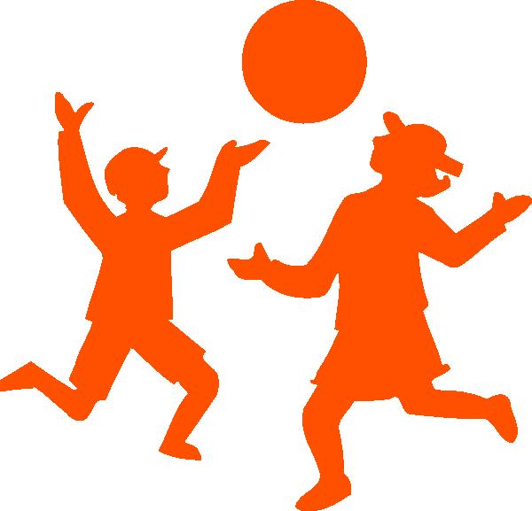 600x577 Children Playing Clip Art